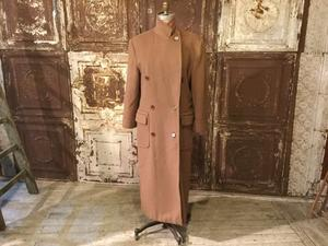 Old Calvin Klein × Saks Fifth Avenue Double Breasted Wool Long Coat - REAL MONKEY 仙台 ~ Vintage & Antiques ~古着屋