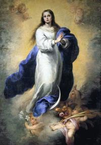 無原罪の聖母 - 令和氣淑