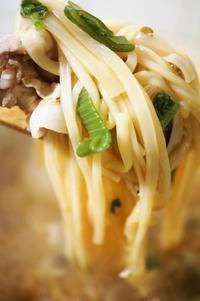 ■麺類【肉野菜入り味噌煮込みうどん】こんな寒い日にピッタリ!! - 「料理と趣味の部屋」