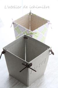 元々の軽量BOX - ichimiereカルトナージュと手づくりの時間