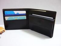 二つ折り財布・小銭入れ付き - 革小物 paddy の作品