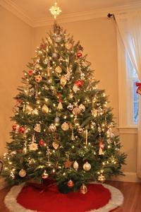 クリスマスツリーほぼ完成 - 音楽・スィーツ・そしてBoston