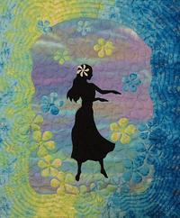 2枚目のフラガールキ... - ほっと一息・・~Sakura's Hawaiian QuiltⅡ