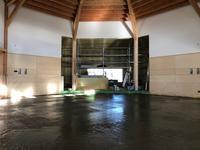 床のコンクリート(N教会) - か ん ば ら 日 記