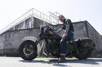 ケニー 竹内  & HONDA STEED400(2019.08.18/TONAMI) - 君はバイクに乗るだろう