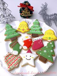 クリスマスアイシングクッキー - Comforts