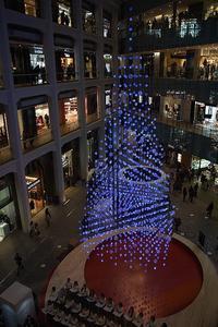 ホワイトKITTE☆水引のクリスマスツリー - さんじゃらっと☆blog2