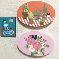 年内最後のミニ展示 - たなかきょおこ-旅する絵描きの絵日記/Kyoko Tanaka Illustrated Diary