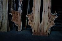 ウッドレジンリバーテーブル耳付き変な木 - SOLiD「無垢材セレクトカタログ」/ 材木店・製材所 新発田屋(シバタヤ)