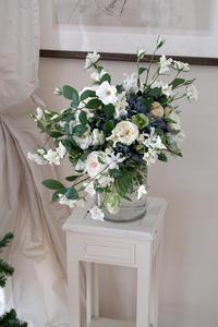 白いウエディングブーケ -  La Fleur
