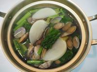 蕪とあさりの小鍋 - sobu 2