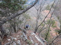 Osamiya-Tenridake-Mt.Ryoukami-Haccho Pass- Sakamoto20191210 - The study of BCXC skiing/Hiking