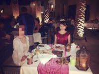 砂漠ホテルバブアルシャムス④ホテルディナー - かなりんたび