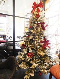 クリスマスのカフェタイム - eri-quilt日記3