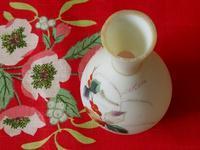 柊柄のウラン・ガラスの花瓶 - Der Liebling ~蚤の市フリークの雑貨手帖3冊目~