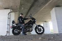 高畑 武信 & Harley-Davidson FXR SuperGlide(2019/08.18/TONAMI) - 君はバイクに乗るだろう