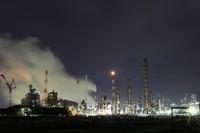 千葉工場夜景 - うろ子とカメラ。