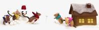 ネズミの雪合戦 - 図工舎 zukosya blog