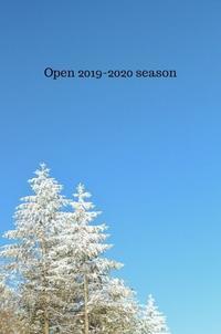 2019~2020シーズンのオープン - ハーブガーデン便り