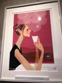 作品「Cafe take a break」 - まゆみん MAYUMIN Illustration Arts