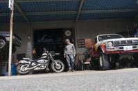 石田 涼 & Harley-Davidson FXEF(2019.03.22/ICHINOMIYA) - 君はバイクに乗るだろう