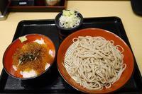 300杯目:富士そば三光町店でミニいくら風タピオカ漬け丼セット - 富士そば原理主義