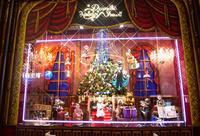 Christmas 阪急梅田コンコース - Blue Planet Cafe  青い地球を散歩する