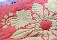 ハイビスカス🌺縫ってます - ほっと一息・・~Sakura's Hawaiian QuiltⅡ