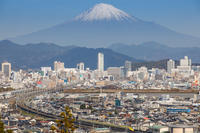 ドクターイエローと富士山 - はじまりのとき