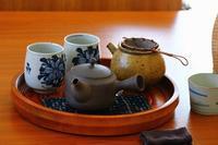 大福茶と本煉羊羹 - 満足満腹  お茶とごはん