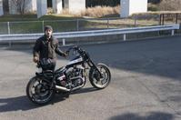 井町 貴宏 & Harley-Davidson FXEF(2019.01.20/CHIBA) - 君はバイクに乗るだろう