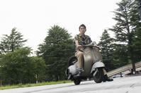 相澤 直哉 & PIAGGIO Vespa 150VB1(2019.07.20/SENDAI) - 君はバイクに乗るだろう