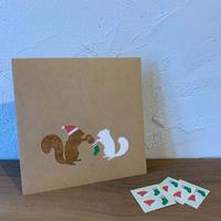 リスの贈り物 - シロリス