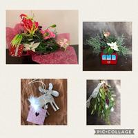 mikaさんのクリスマスレッスン - Rico 花の教室
