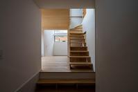 玄関からの眺め - atelier kukka architects