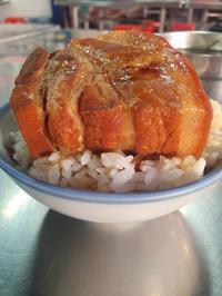 (台中:魯肉飯)3時のおやつを台中の第二市場「山河魯肉飯」さんでこんなにガッツリ♪ - メイフェの幸せ&美味しいいっぱい~in 台湾