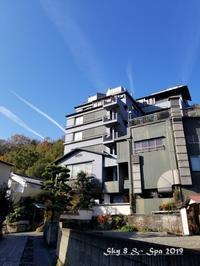 ◆ 30年ぶりの伊豆長岡温泉へ、その3 着物で彩られた全館畳敷きの宿「楽山やすだ」へ 到着編(2019年12月) - 空とグルメと温泉と
