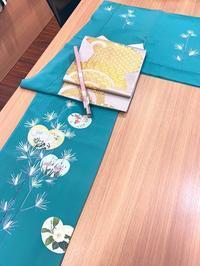 【販売連絡】加賀友禅訪問着 - 着物Old&Newたんす屋泉北パンジョ店ブログ