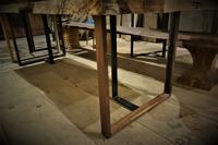 鉄脚+ウォールナットD type - SOLiD「無垢材セレクトカタログ」/ 材木店・製材所 新発田屋(シバタヤ)