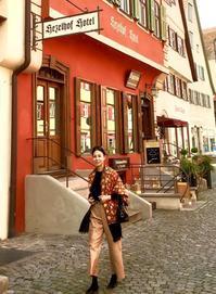 パリ・南ドイツ紀行2019「ロマンチック街道・ローテンブルクを闊歩」♪ - 八巻多鶴子が贈る 華麗なるジュエリー・デイズ