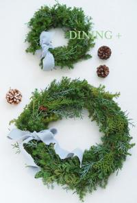 クリスマスリース - 東京都杉並区 テーブルコーディネート教室DINING +