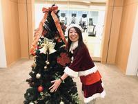 クリスマス仮装!エアロビクスインストラクターと、バレトンインストラクター - バレトン&バーワークスマスタートレーナー渡辺麻衣子オフィシャルブログ