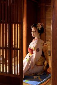 まねきの簪(祇園東叶久さん) - 花景色-K.W.C. PhotoBlog