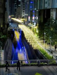 渋谷最新スポット * 渋谷リバーストリート イルミネーション2019 - ぴきょログ~軽井沢でぐーたら生活~