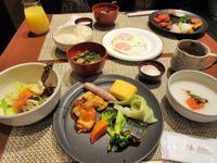 【ラウンジホッパー】2回目の朝食は「花雅」【グランドプリンス高輪】 - お散歩アルバム・・秋バラの頃