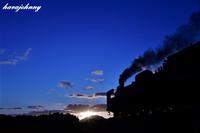 魅惑のブルーシャトー~SLやまぐち号~ - 夕暮れと蒸気をおいかけて・・・