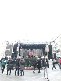 ビロード革命30周年記念イベントの様子ビロード革命30周年記念旅行(20) - 本日の中・東欧