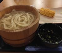 丸亀で釜揚げうどんと卵焼きの天ぷら - アバウトな情報科学博士のアメリカ