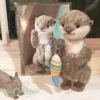 カワウソのオタちゃん♡キット ネット販売始まりました! - pluie teddybear