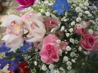 クリスマスの花束 - グリママの花日記